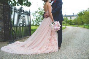 menyasszonyi ruha púder