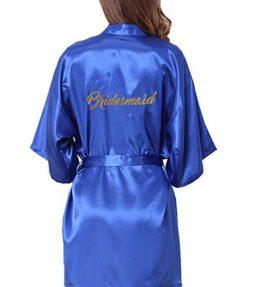 Koszorúslány készülődős köntös- Kék L