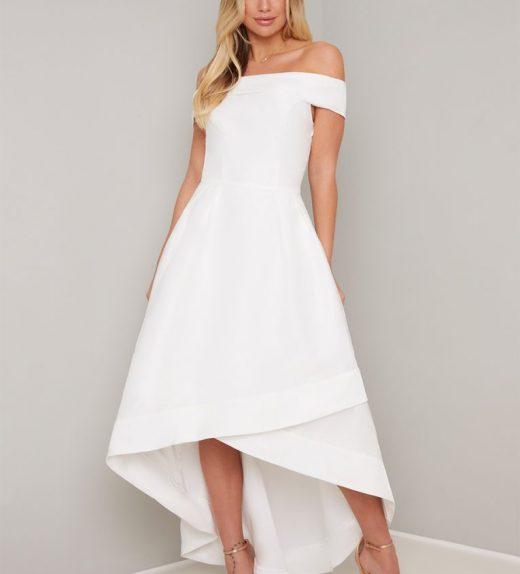 ae548d5b3d High-low menyasszonyi ruha - Menyaklub Elegáns menyasszonyi ruha